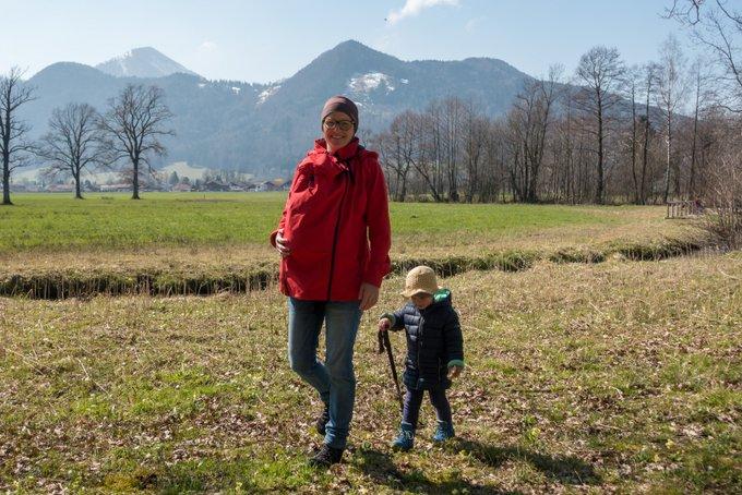 Wandern mit Kleinkind ohne Kraxe