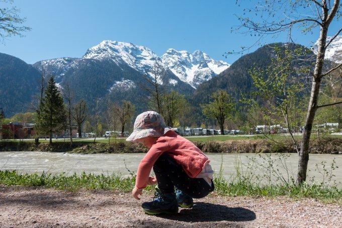 Wandern mit Kleinkind Lofer