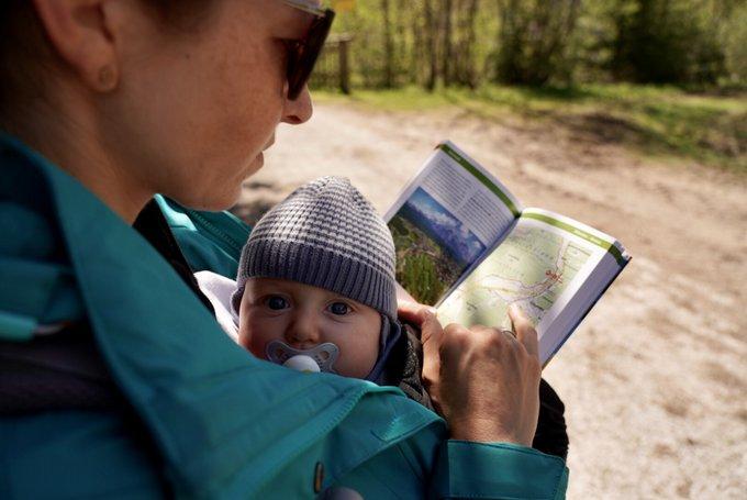 Alpenüberquerung Baby Wanderführer