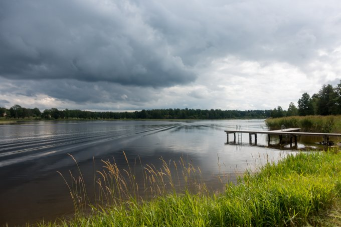 Schweden Landschaft Sommer