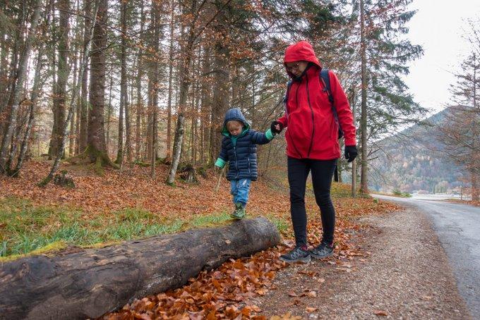 Wandern im Herbst Temperatur beachten