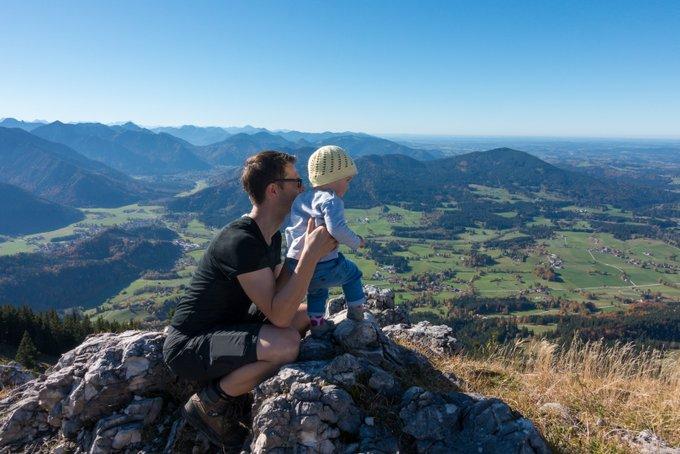 Wanderung auf den Breitenstein mit Kleinkind