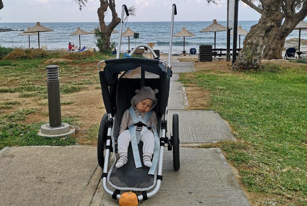 Mit dem Outdoor Kinderwagen im Urlaub