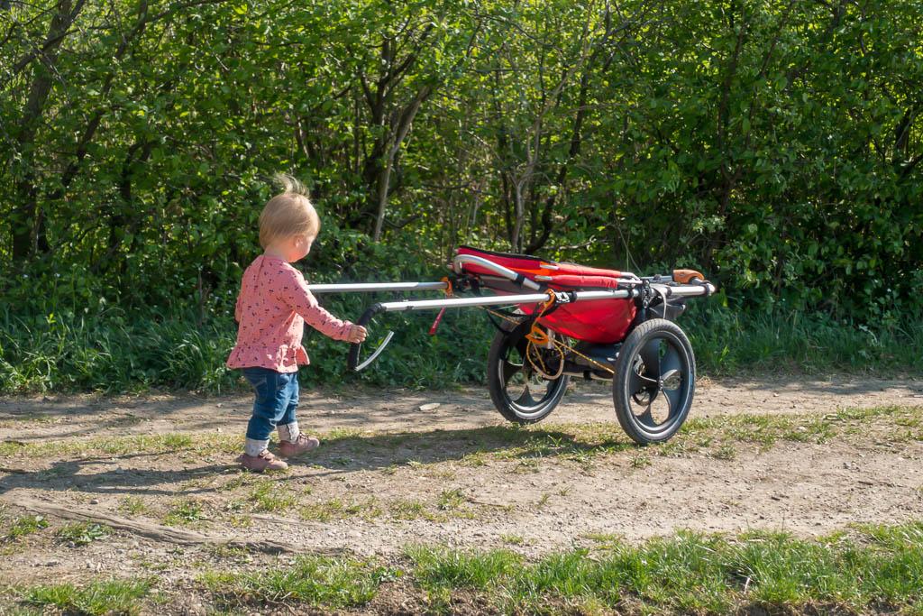 Raus mit Kind Outdoor Kinderwagen