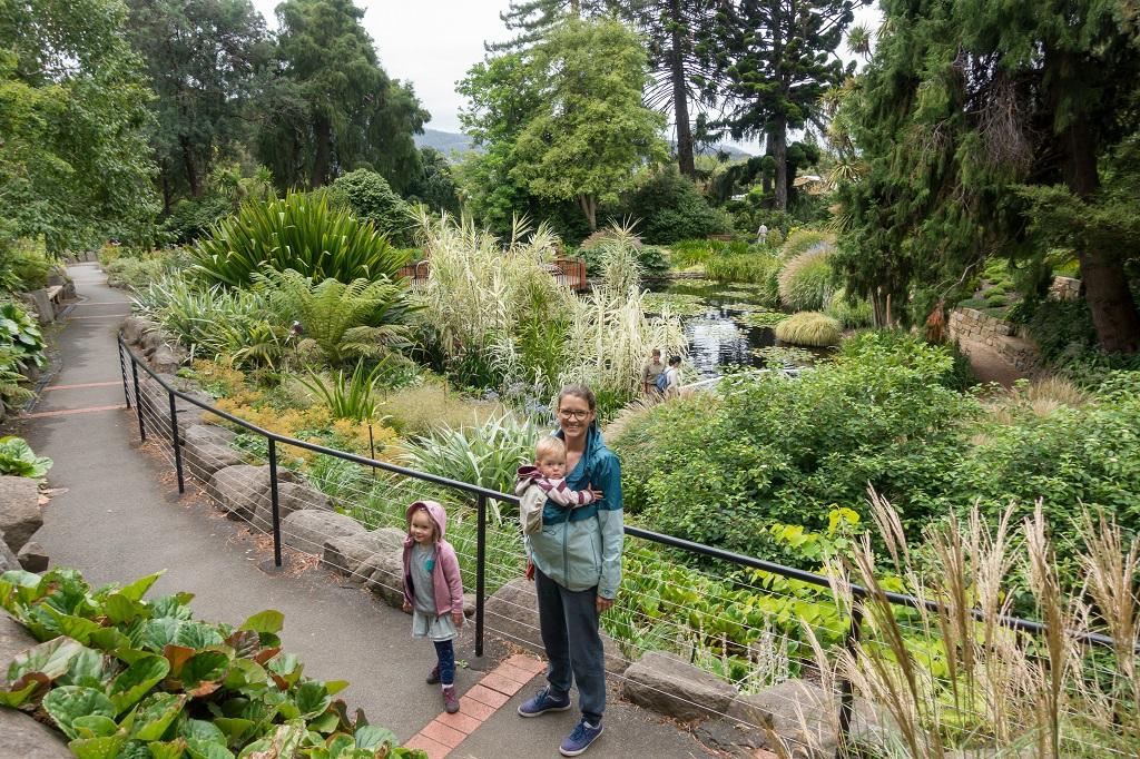 Tasmanien Hobart Botanischer Garten