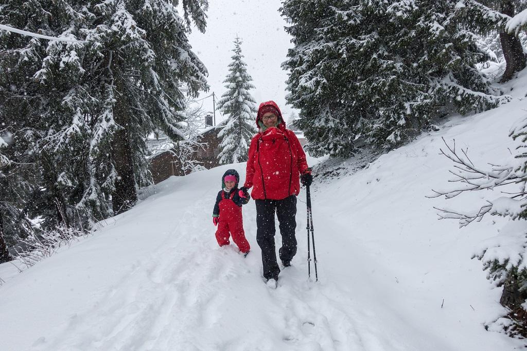 Tragejacke für den Winter