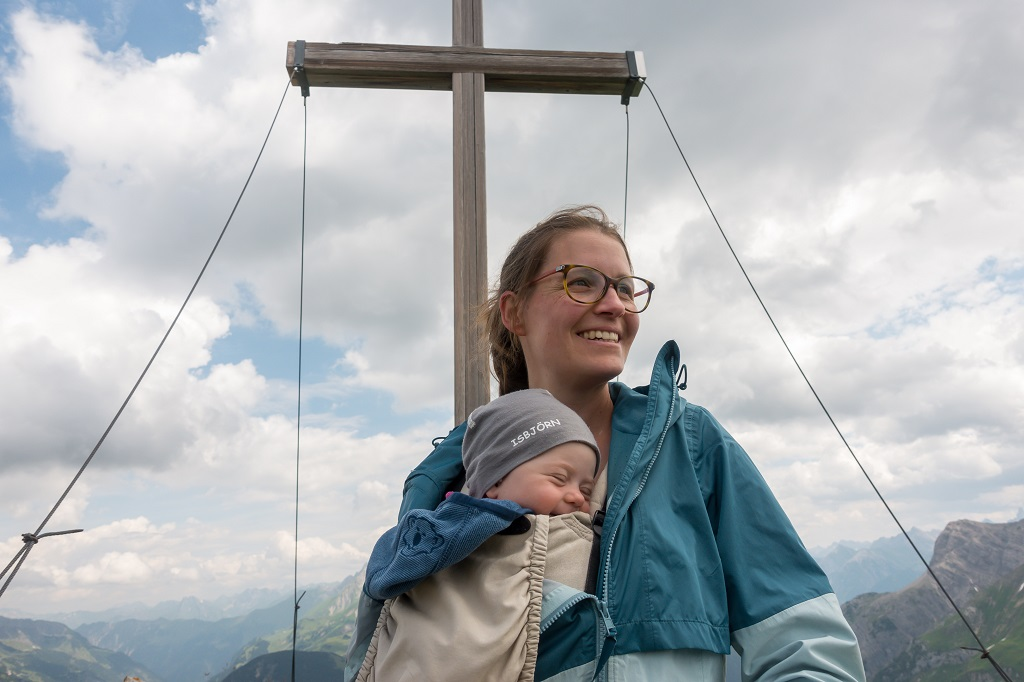 Wandern mit Baby Gipfelglück
