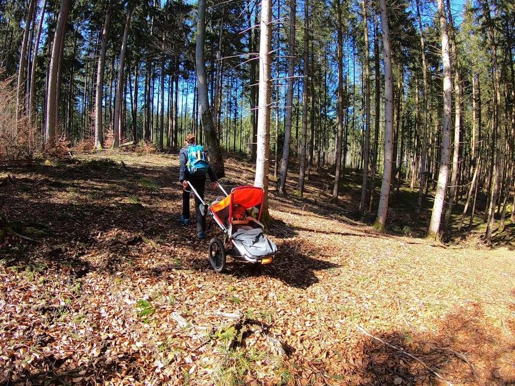 Wandern mit Kinderwagen Outdoor