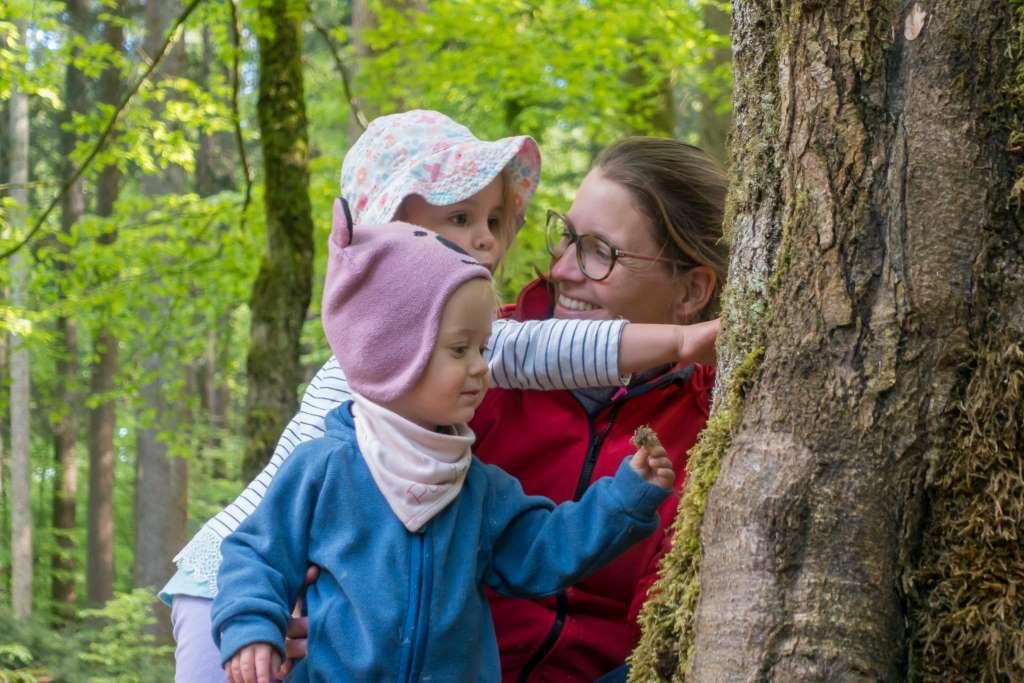 Natur fühlen mit Kindern