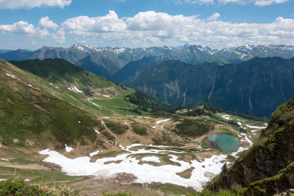 Panorama Fellhorngrat