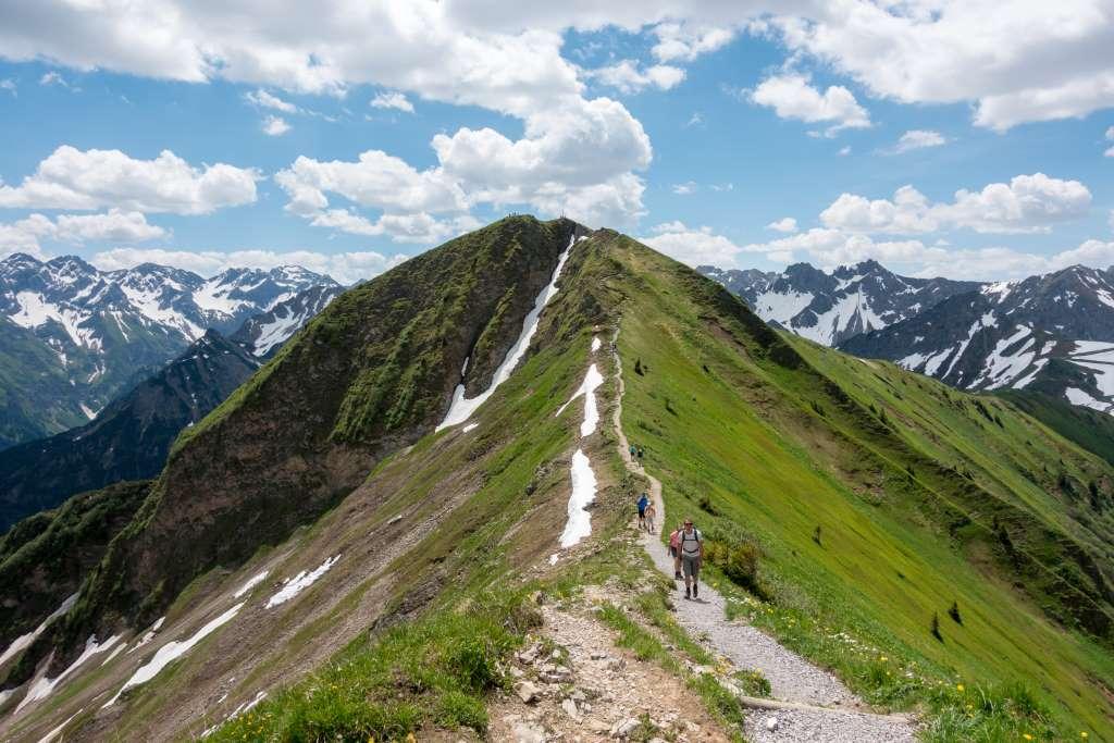 Sommerurlaub Allgäu Fellhornbahn