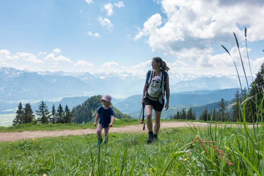 Wandern im Allgäu mit Kindern