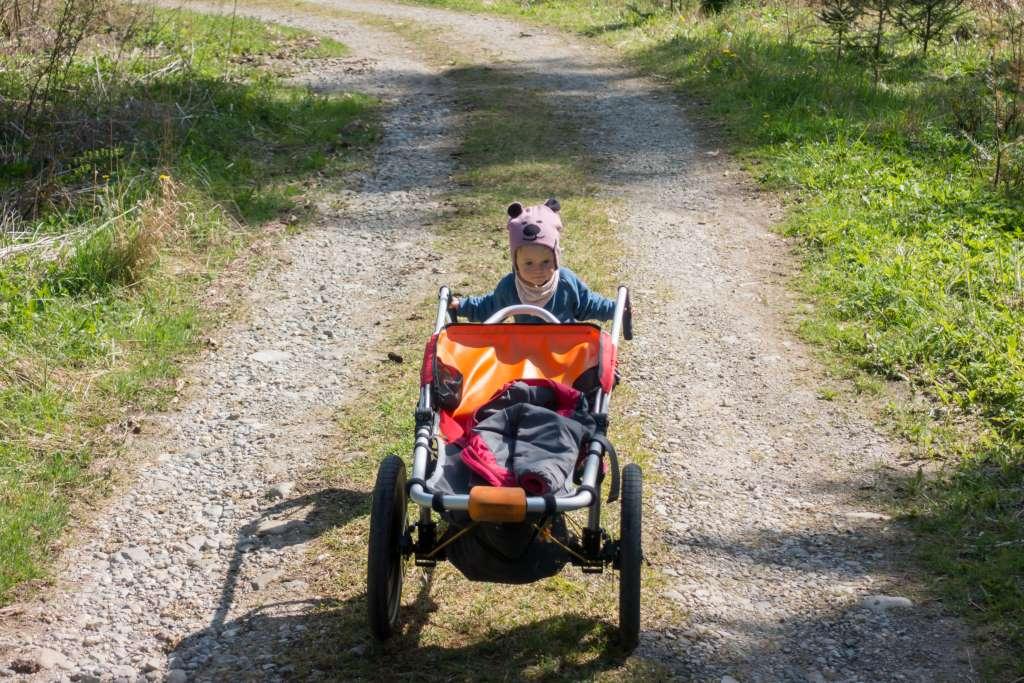 Wandern mit Kind und Kinderwagen