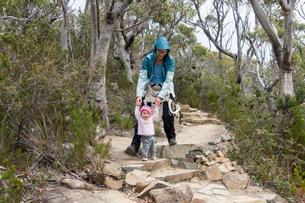 Wandern mit Kind und Trage