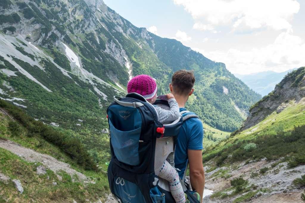 Wandern mit Kraxe Vorteile