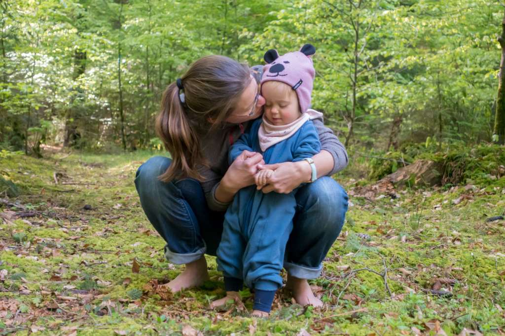 Zeit in der Natur mit Kindern