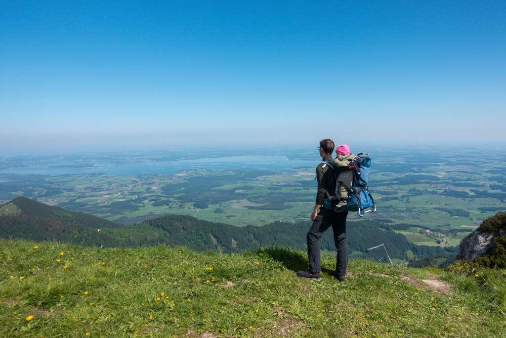 Chiemsee Wandern mit Kindern Hochfelln