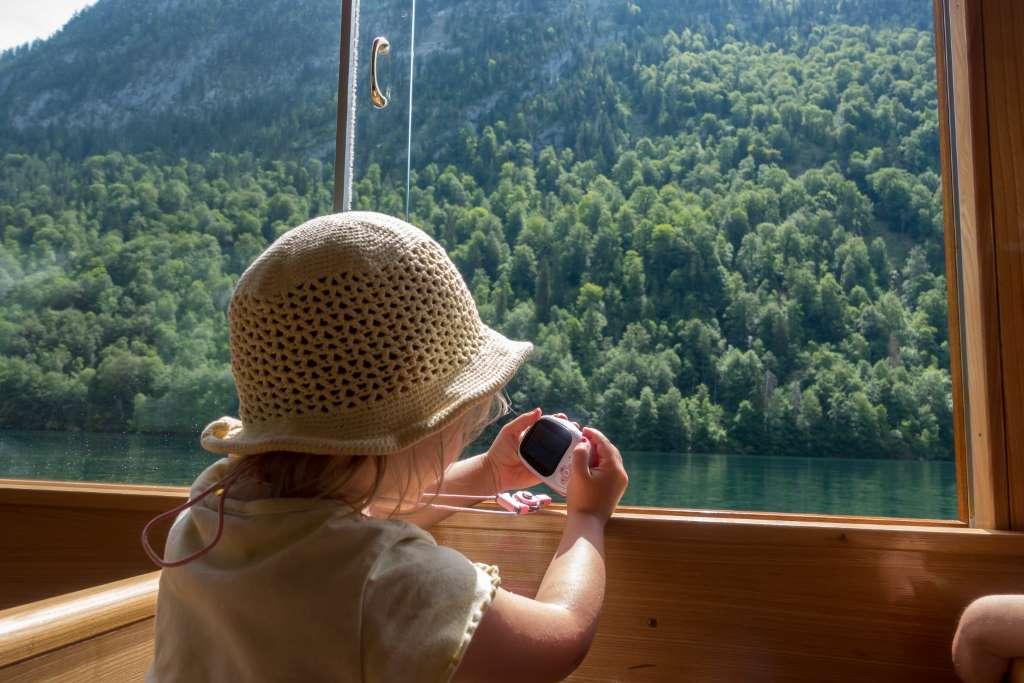 Fahrt auf dem Königssee
