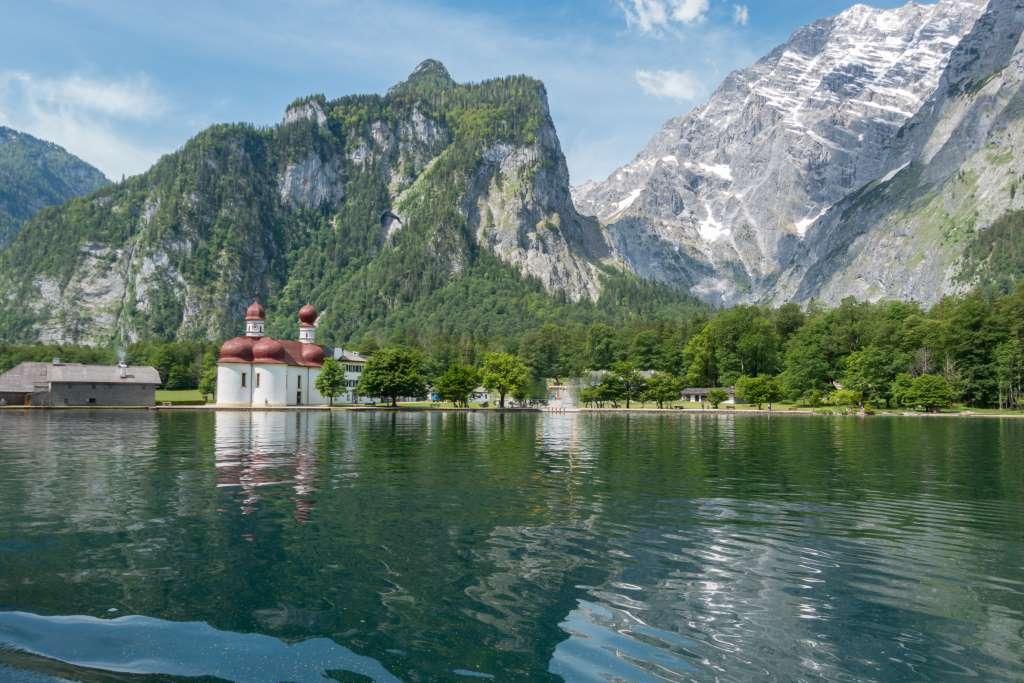 Königssee mit dem Boot