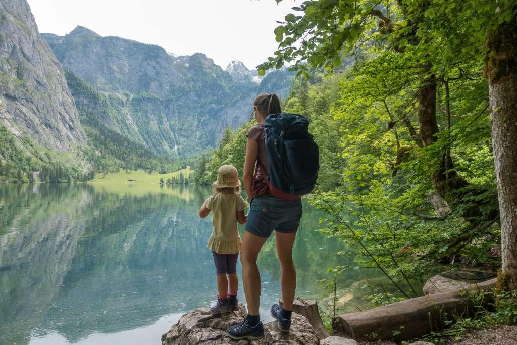 Wandern Kinder Obersee