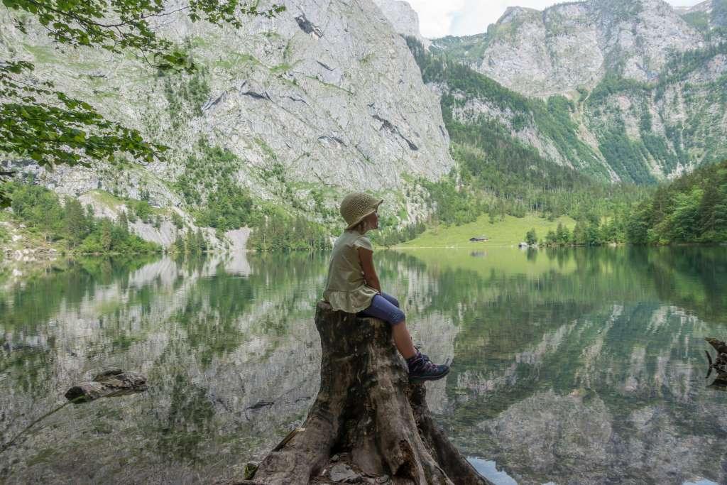 Wandern Königssee Kinder