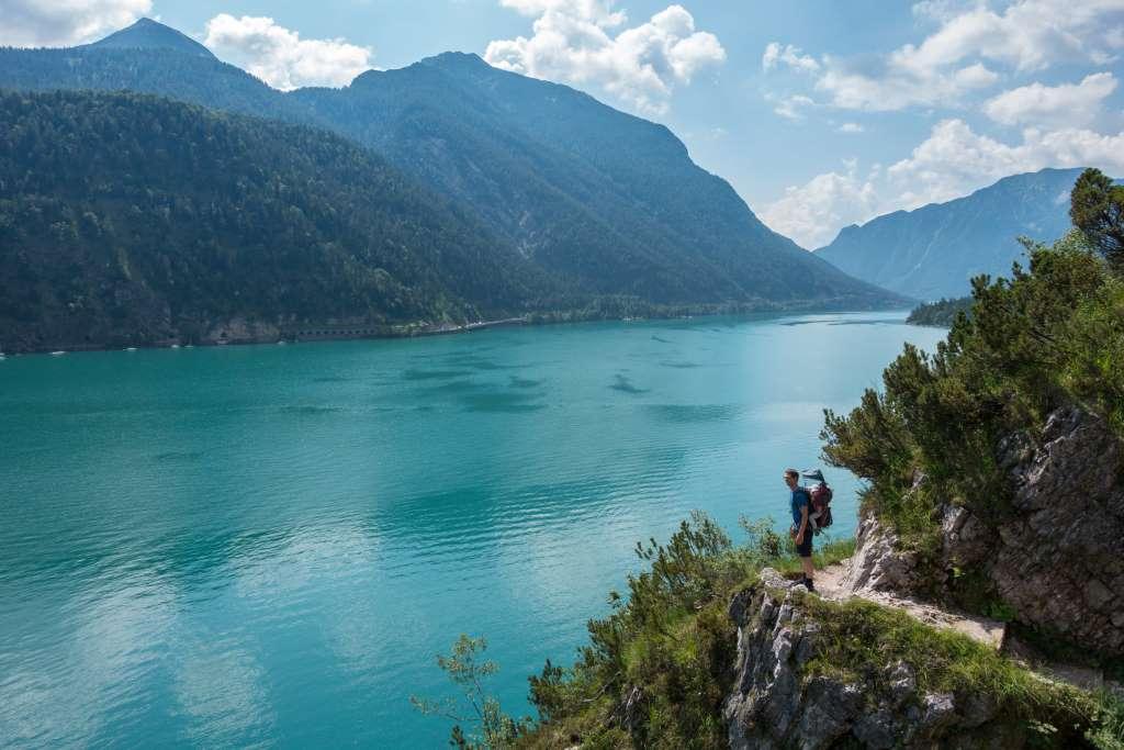 Wandern Schwanger am Achensee