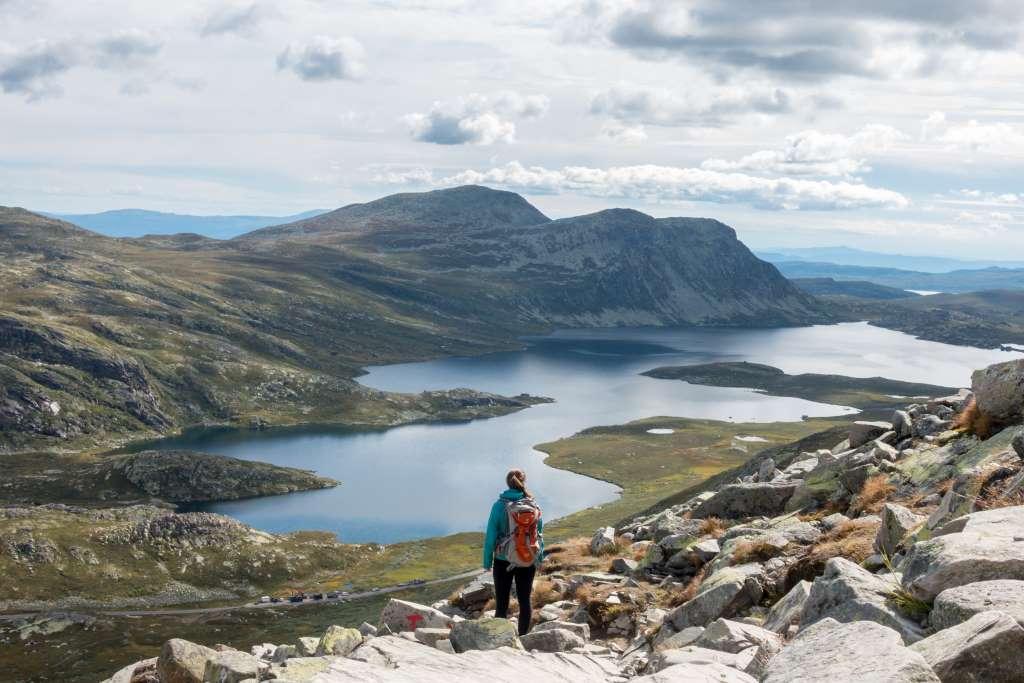 Wandern schwanger Norwegen