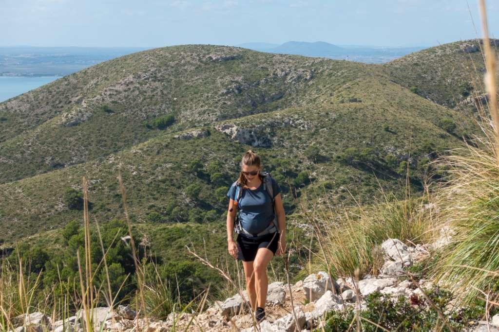 Wandern schwanger auf Mallorca
