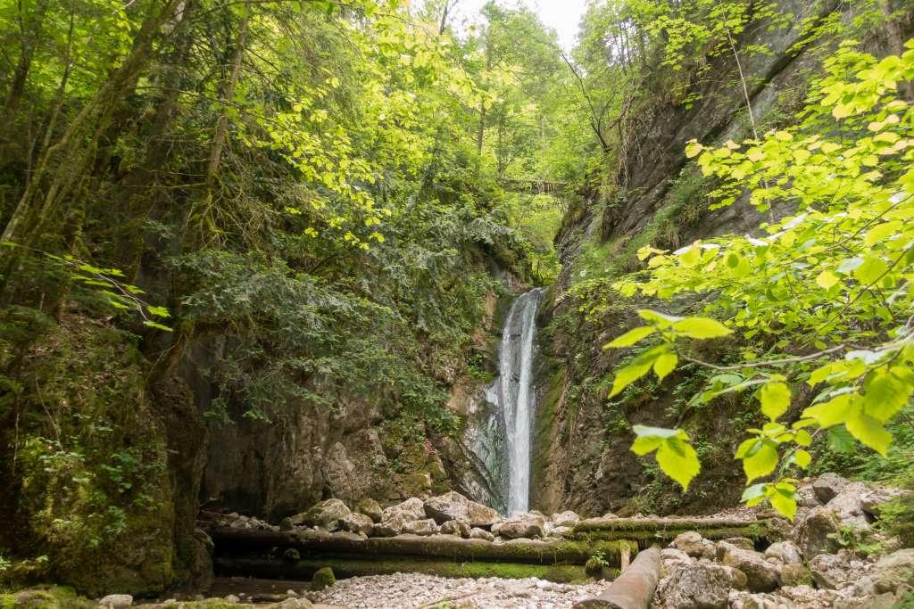 Wasserfall Schmugglerweg Chiemgau
