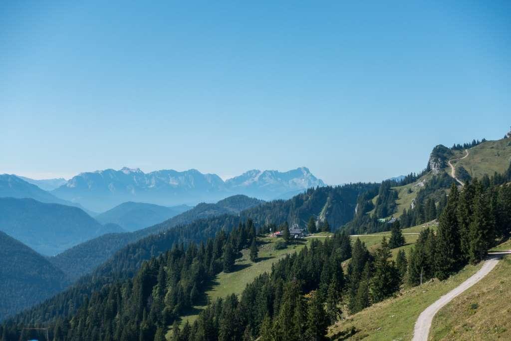 Blick Zugspitze vom Brauneck