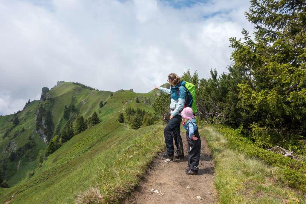Höhenweg Brauneck mit Kindern