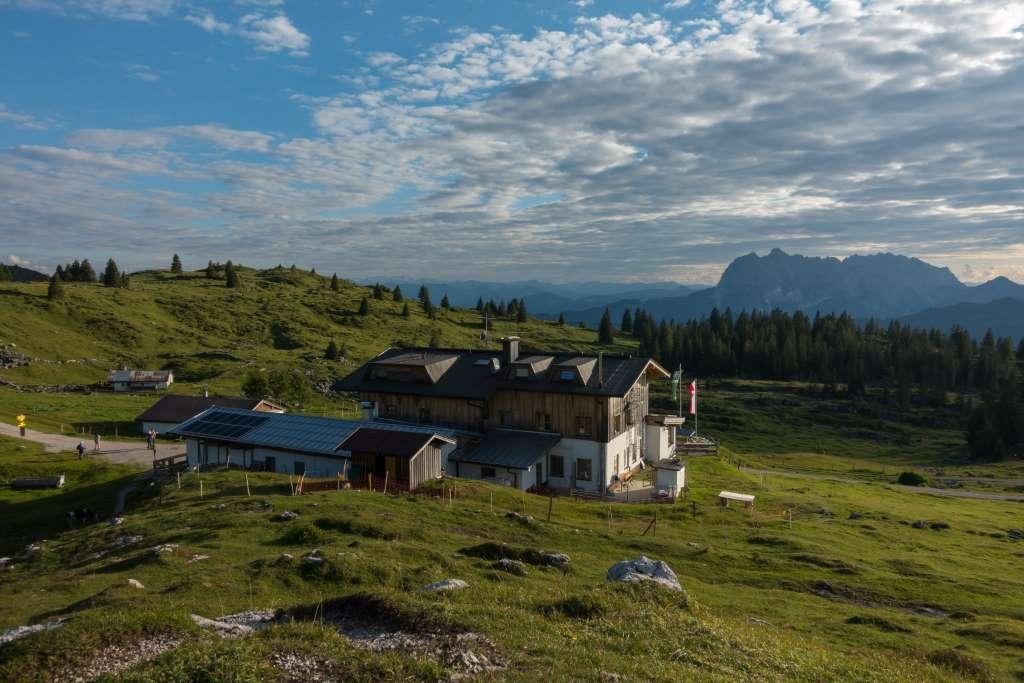 Straubinger Haus mit Kaiserblick
