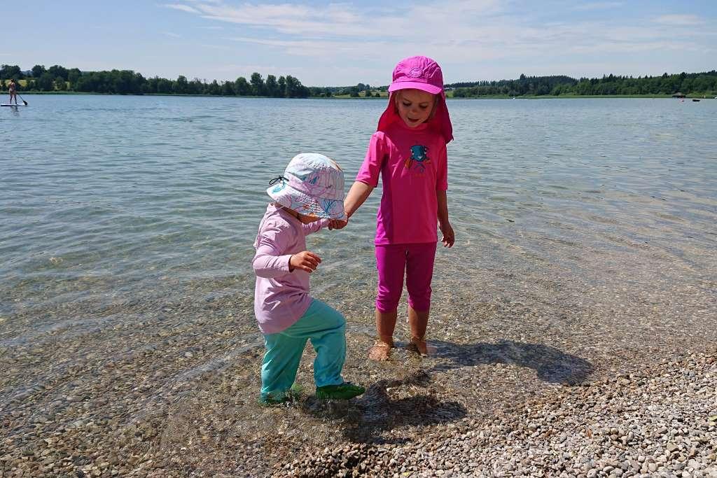 UV-Schutzkleidung Kinder am Chiemsee