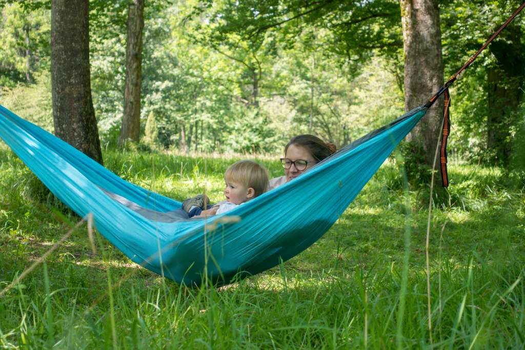 Urlaub zu Hause Erholung in der Natur