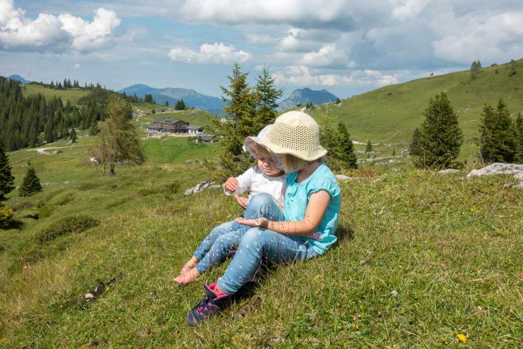 Wandern mit Kindern Chiemgauer Alpen