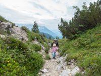 Wandern mit Kindern: Das Straubinger Haus