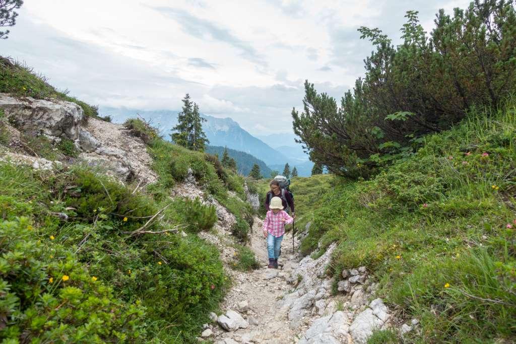 Wanderung Straubinger Haus mit Kindern