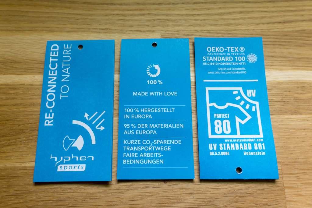 hyphen Nachhaltigkeit UV-Schutzkleidung