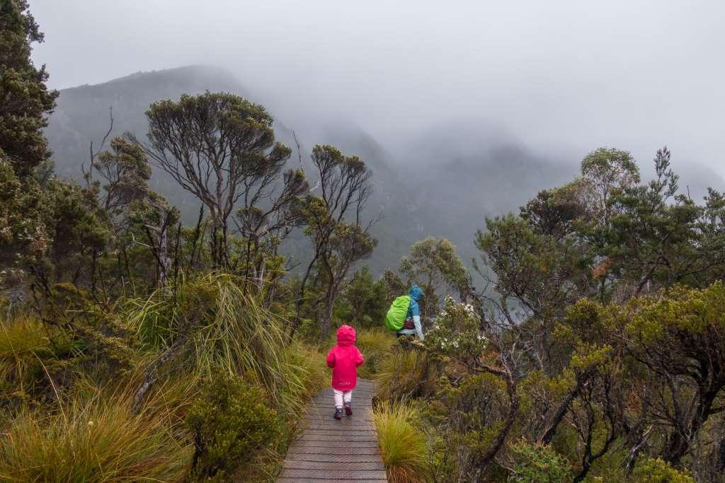 Wandern bei schlechtem Wetter