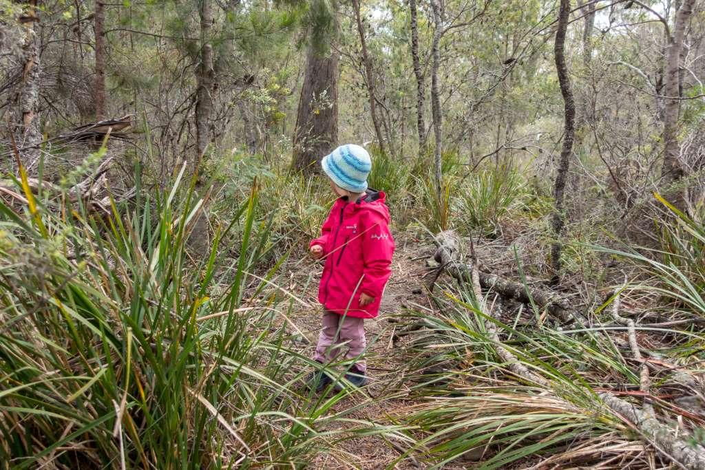Wandern mit Kindern Jacke