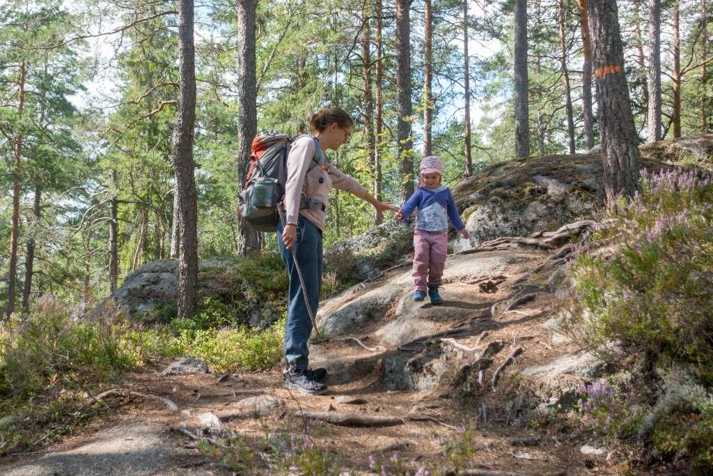 Wanderwege für kleine Kinder