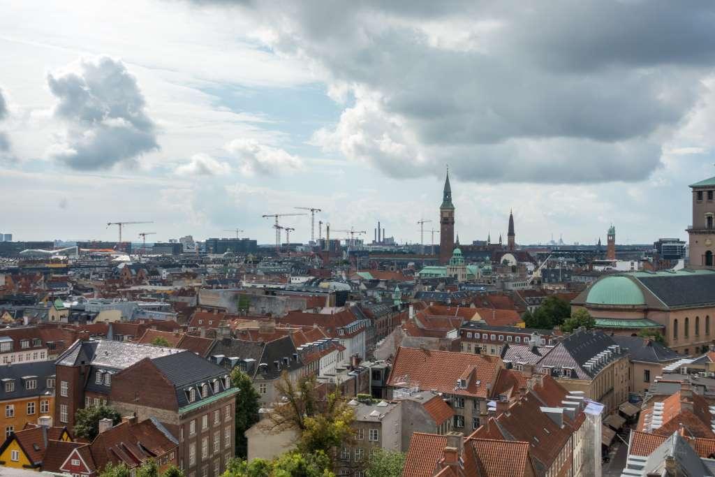 Blick auf Kopenhagen Dänemark Urlaub