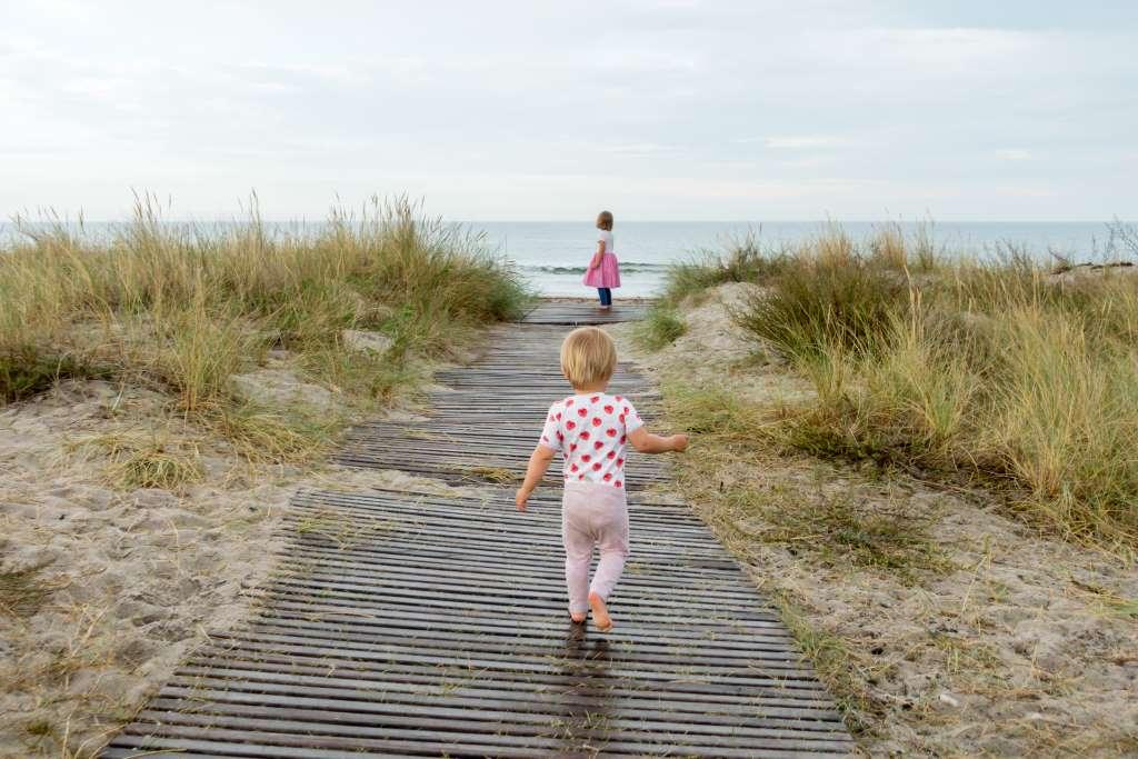 Der schönste Strand auf Møn