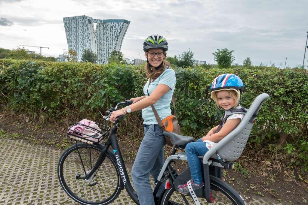 Kopenhagen mit Kindern Fahrrad