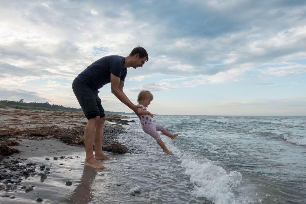 Møn Strand Dänemark mit Kindern