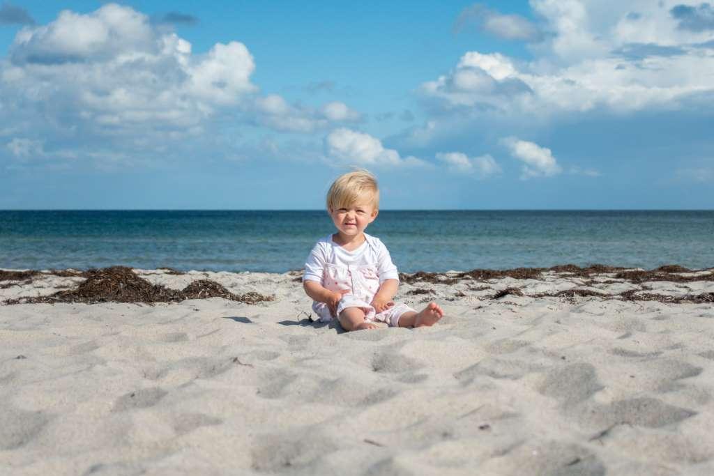 Sommerurlaub mit Kindern Dänemark Strand