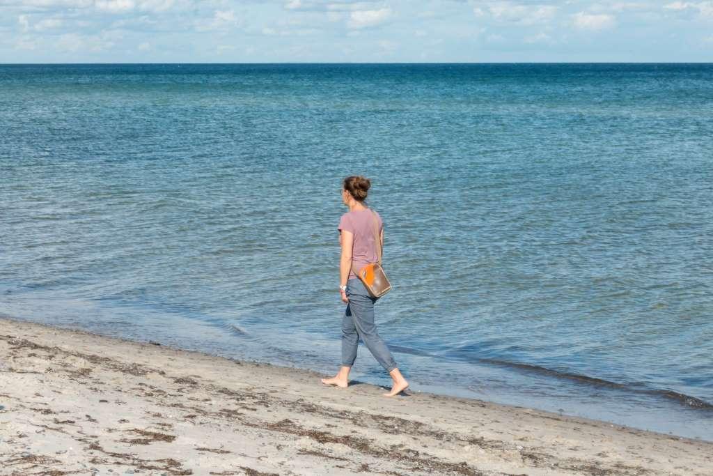 Strandspaziergang in Dänemark