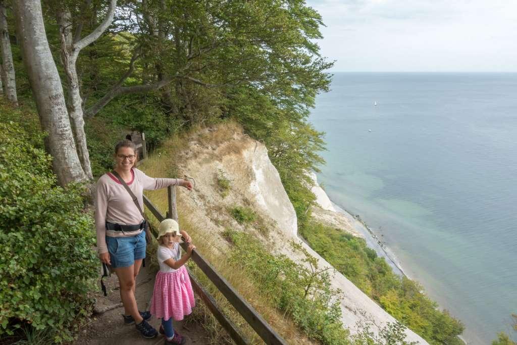 Wandern mit Kindern Møns Klint