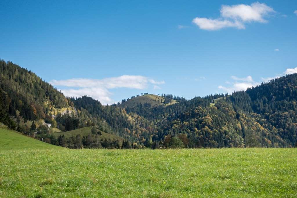 Aussicht Berggasthof Sieglhof