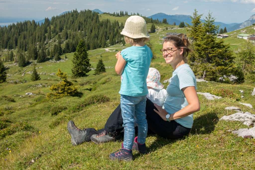 Familienzeit in den Bergen